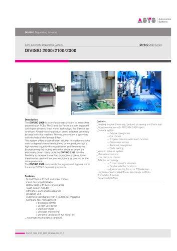 DIVISIO 2000/2100/2300