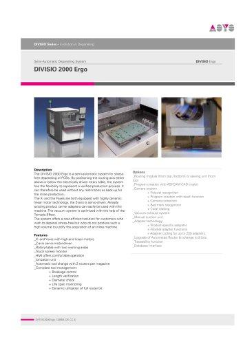 DIVISIO2000 Ergo