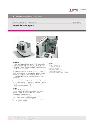 VEGO Dynamic AES 03 Speed
