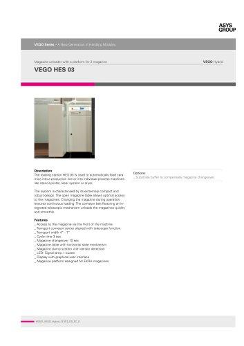VEGO Hybrid HES 03