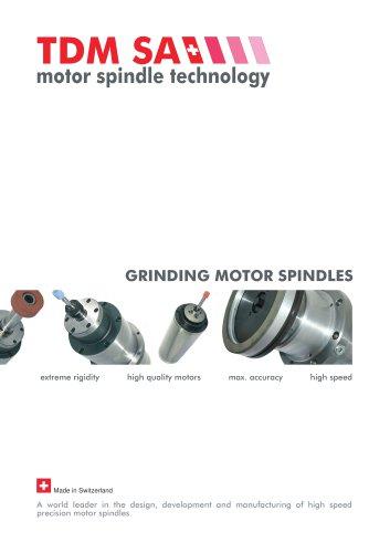 GRINDING MOTOR SPINDLES