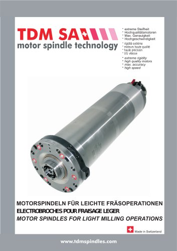 motor spindle technology