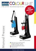 ColourLine presses promotion