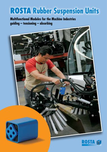 Product Group Rubber Suspension Units