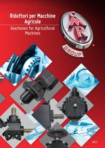 Gearboxes for agricultural machines