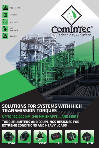 Solutions for system with high transmission torques