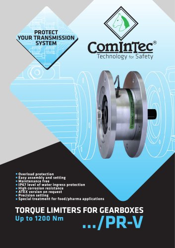 Torque Limiters for Gearboxes
