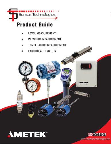 AMETEK Sensor Technologies - Capabilities Brochure