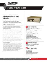 MGB1000 Micro Gas Blender