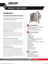 ProMaxion Mass Process Spectrometer