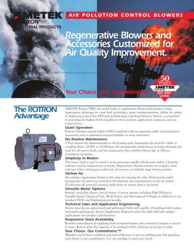 Air Pollution Control Blowers