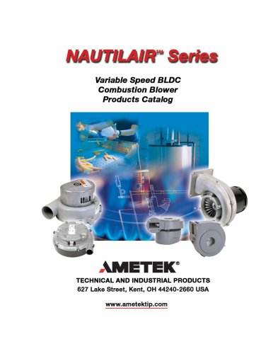 Nautilair Combustion Blowers