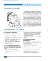 Regenerative Blowers - 1