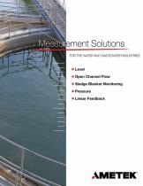 measurement-solutions-for-the-water-and-wastewater-industries