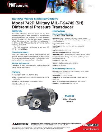 Model 742D Military MIL-T-24742 (SH)