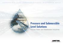 Pressure and Submersible Level Solutions
