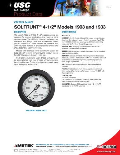 """SOLFRUNT® 4-1/2"""" Models 1903 and 1933"""