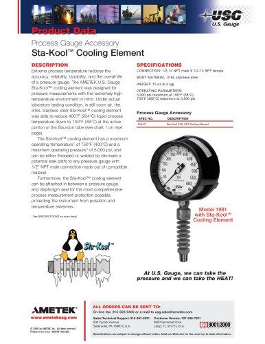 Sta-Kool Cooling Element