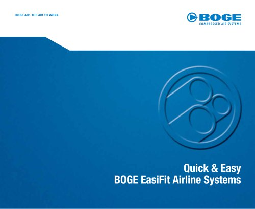 Quick & EasyBOGE EasiFit Airline Systems