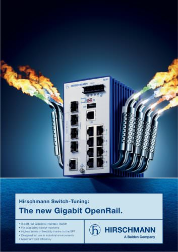 Flyer Gigabit OpenRail RS40