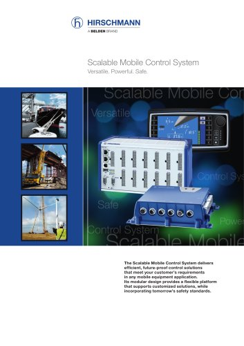 Scalable Mobile Control System