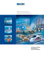 Signal Transmission Solutions and Products