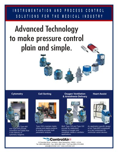 Advanced Technology to make pressure control plain and simple