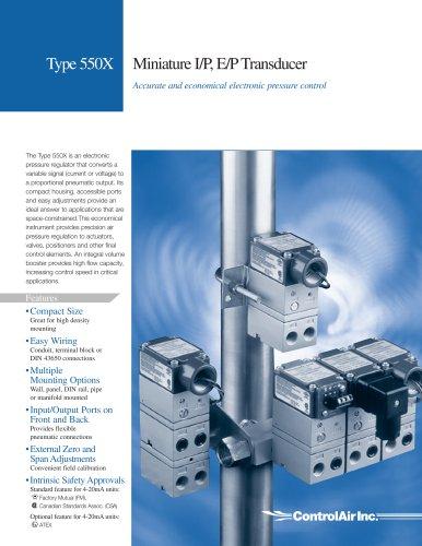 Electropneumatic Pressure Regulators