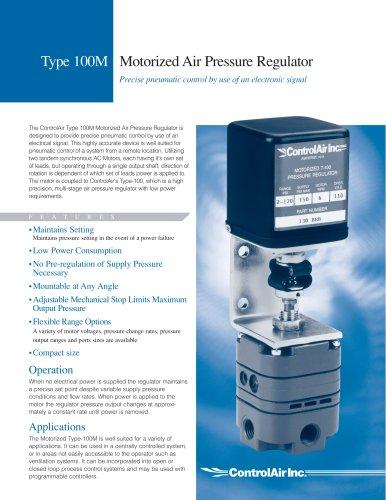 T100M Motorized Precision Air Pressure Regulator