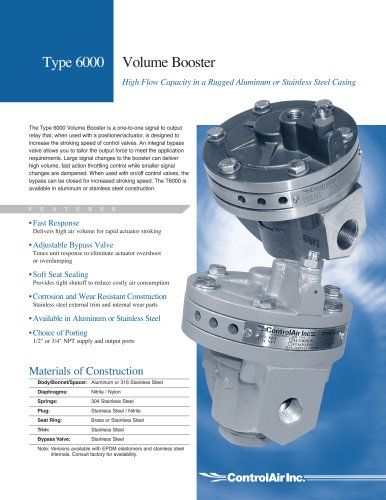 Type-6000 Volume Booster