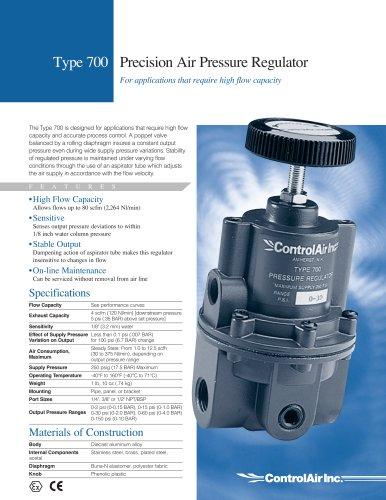 Type 700 High Flow Pressure Regulator