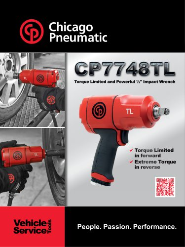 """Torque Limited and Powerful ½"""" Impact Wrench CP7748TL"""