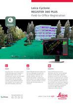 Leica Cyclone REGISTER 360 Data Sheet