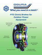 PTO Clutch/Brakes brochure