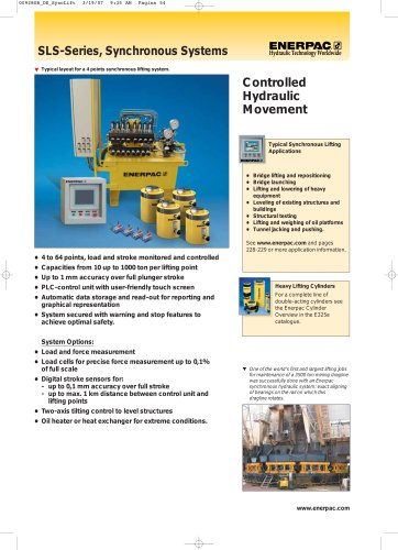 Enerpac Synchronous Liftsystem