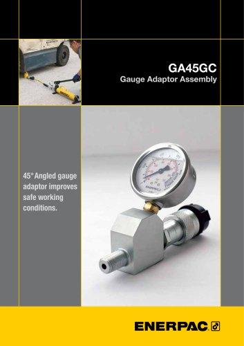 GA45GC Gauge Adaptor Assembly
