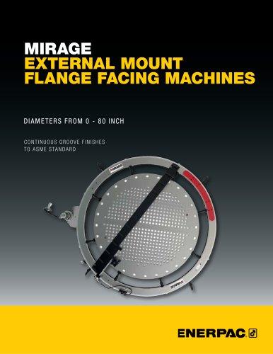 Mirage External Mount Flange Facing Machines