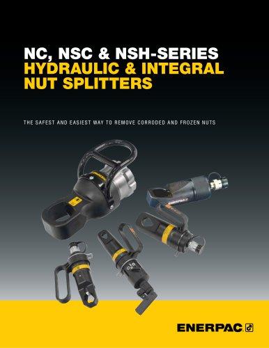 NC, NSC & NSH-Series Hydraulic & Integral Nut Splitters
