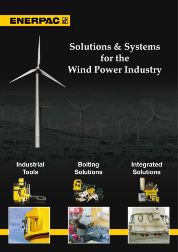 Solutions & Systems for the Wind Power Industry