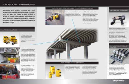Tools for Bridge Maintenance