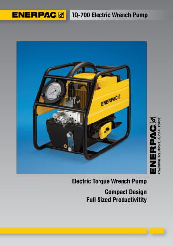 TQ-700 Electric Wrench Pump
