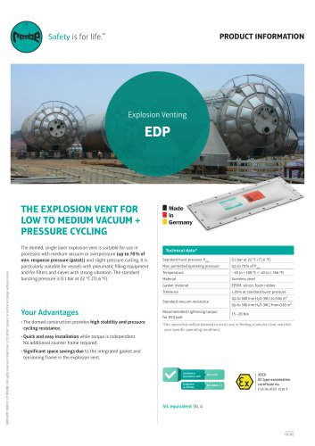 EDP Product information