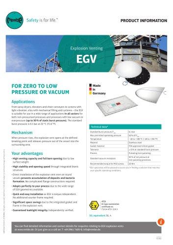 EGV Product Information