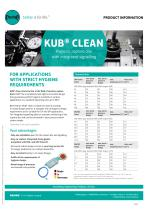KUB clean with signalling unit Product Information