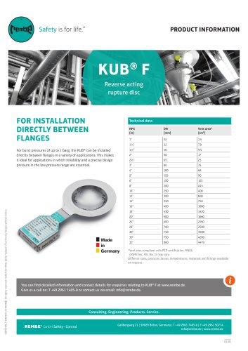 KUB F Product Information