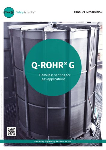 Q-Rohr G for gas applications Product Information