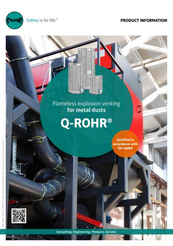 Q-Rohr metal dust Product Information