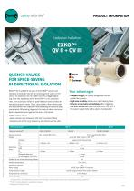 Quench Valve Product Information