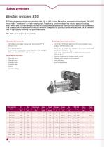 Brochure Industrial cable winches - 12