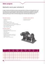 Brochure Industrial cable winches - 14